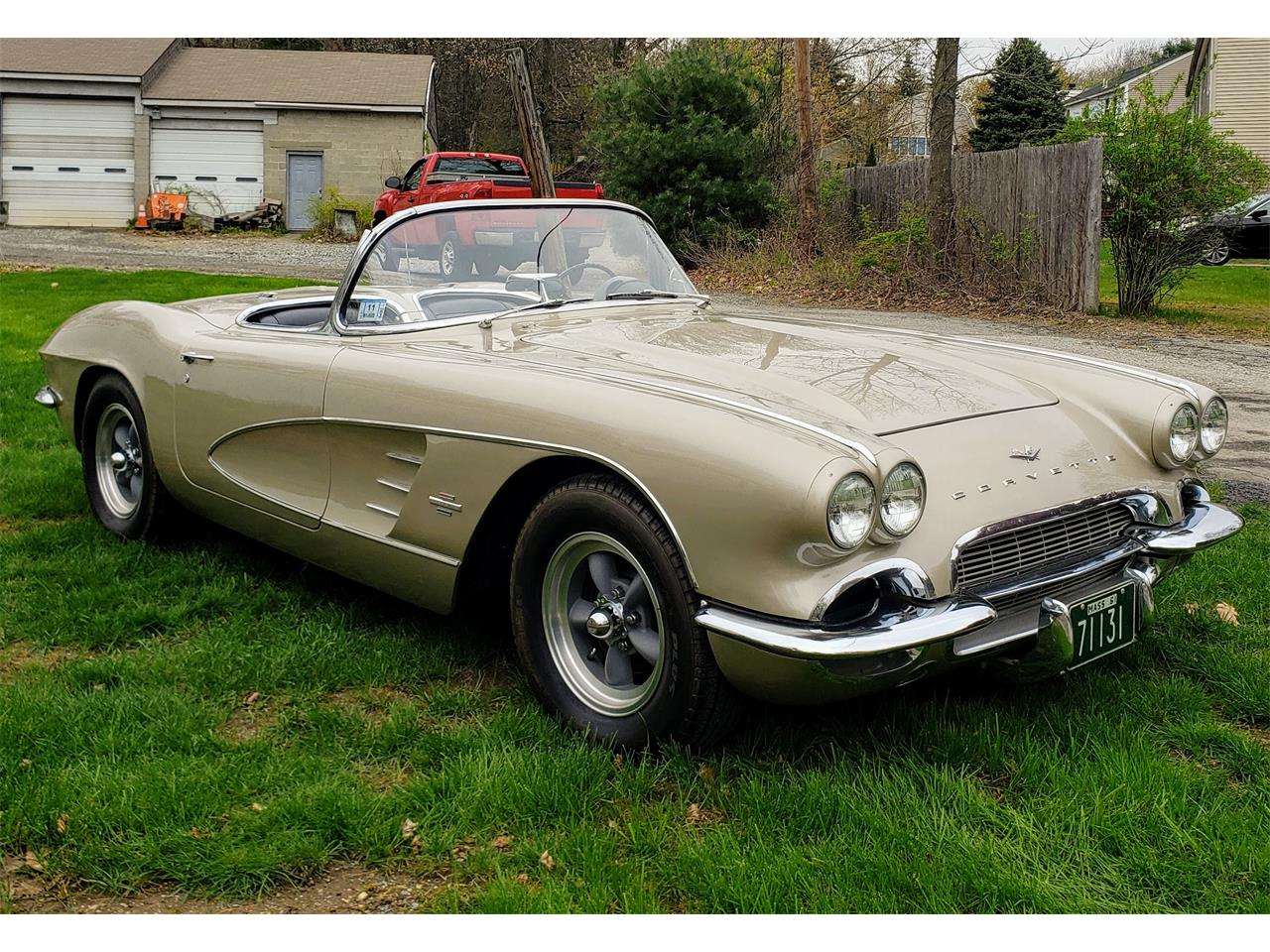 Large Picture of Classic 1961 Chevrolet Corvette Offered by a Private Seller - Q0QW