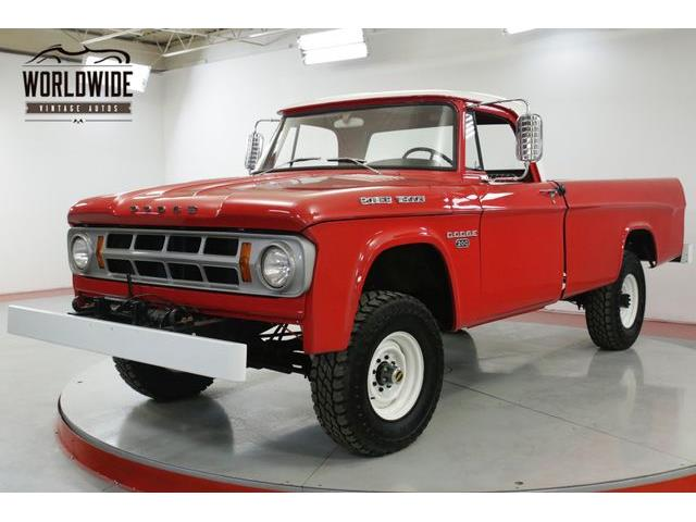 Picture of '68 Power Wagon - Q0U8