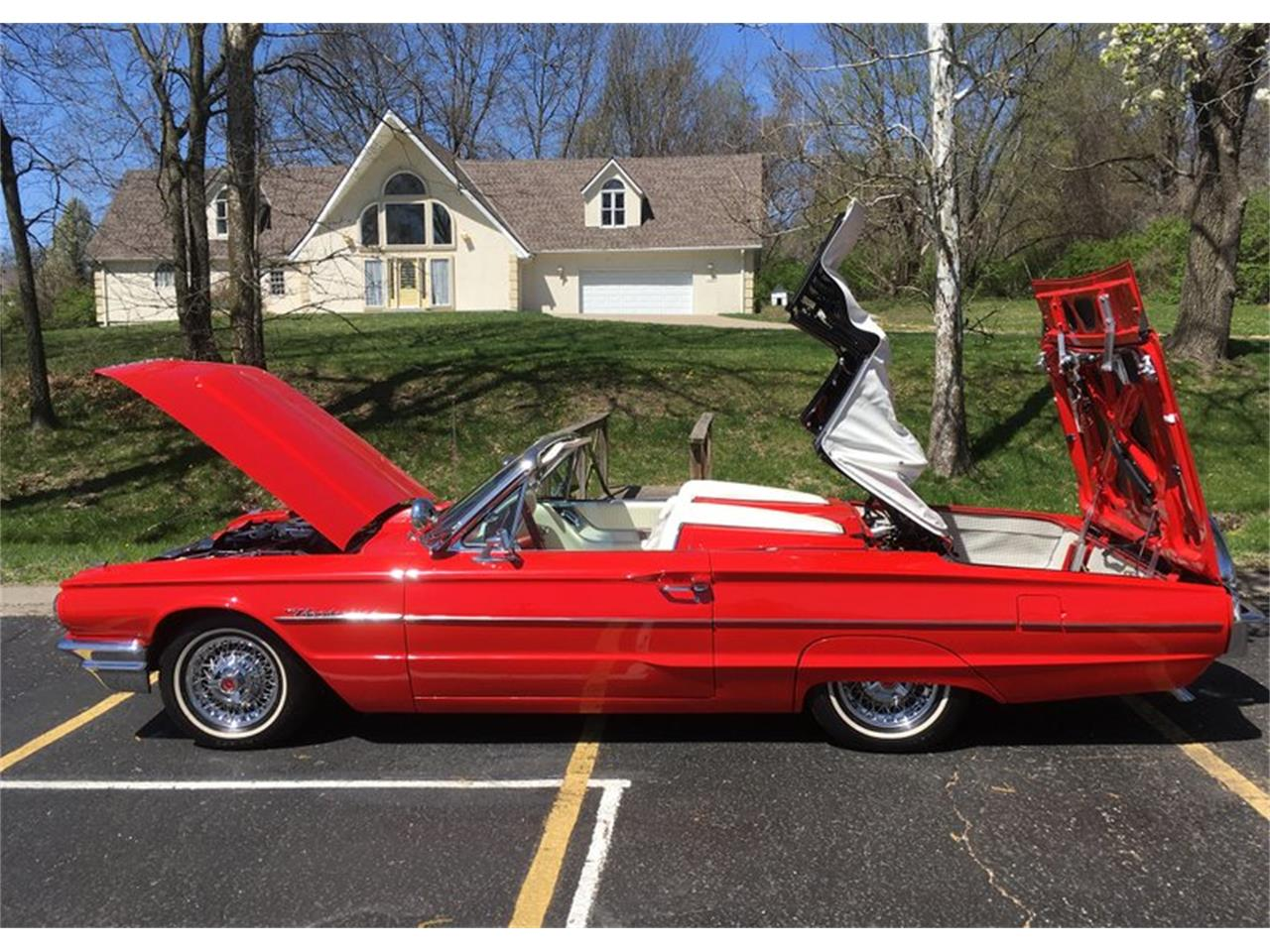 Large Picture of Classic '64 Ford Thunderbird located in Oklahoma - Q0VV