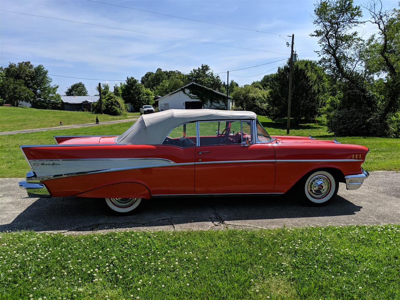 Large Picture of Classic 1957 Chevrolet Bel Air located in Georgia - $95,000.00 Offered by a Private Seller - Q0ZG