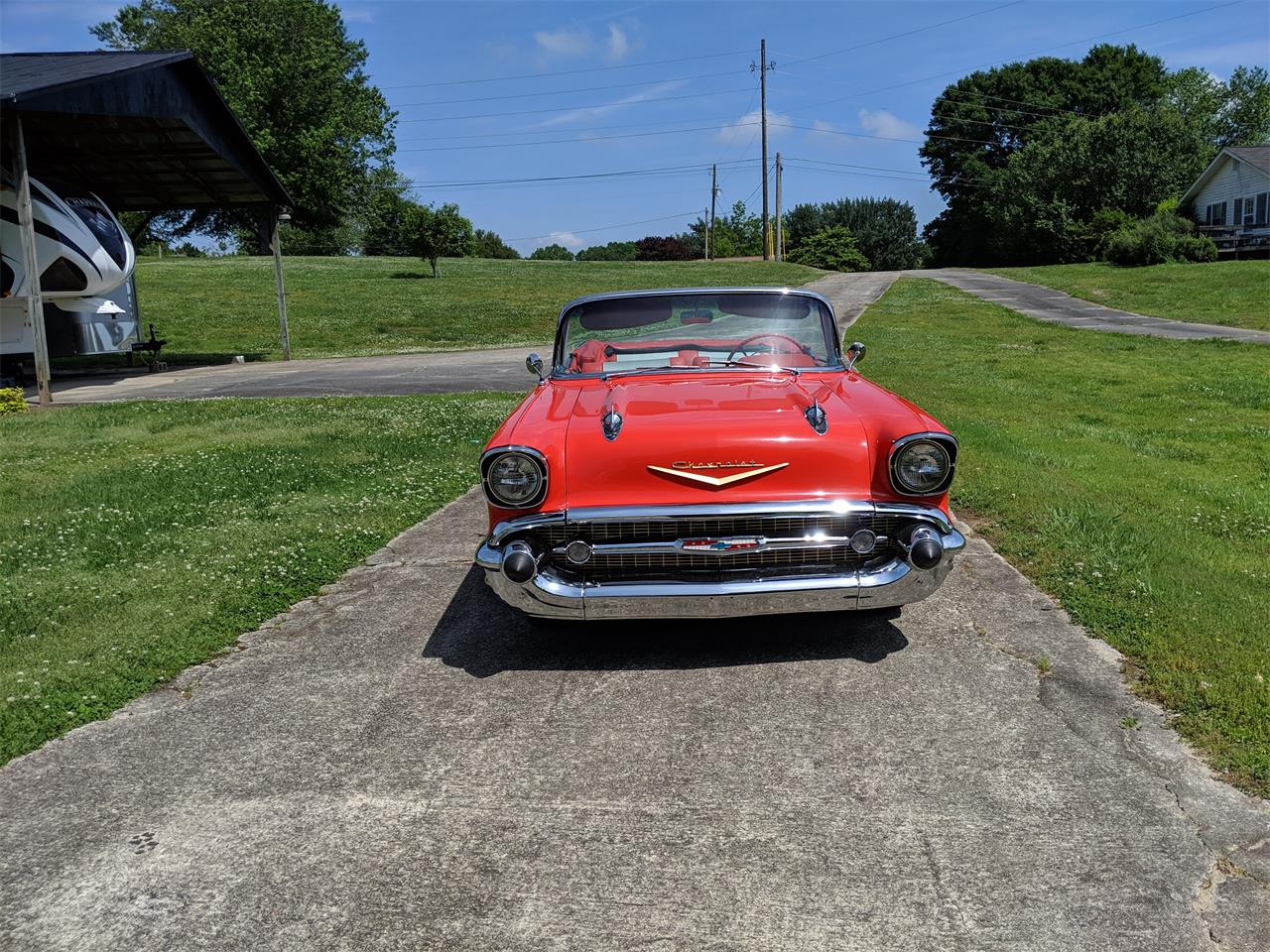 Large Picture of 1957 Bel Air located in Gainsville Georgia - $95,000.00 Offered by a Private Seller - Q0ZG