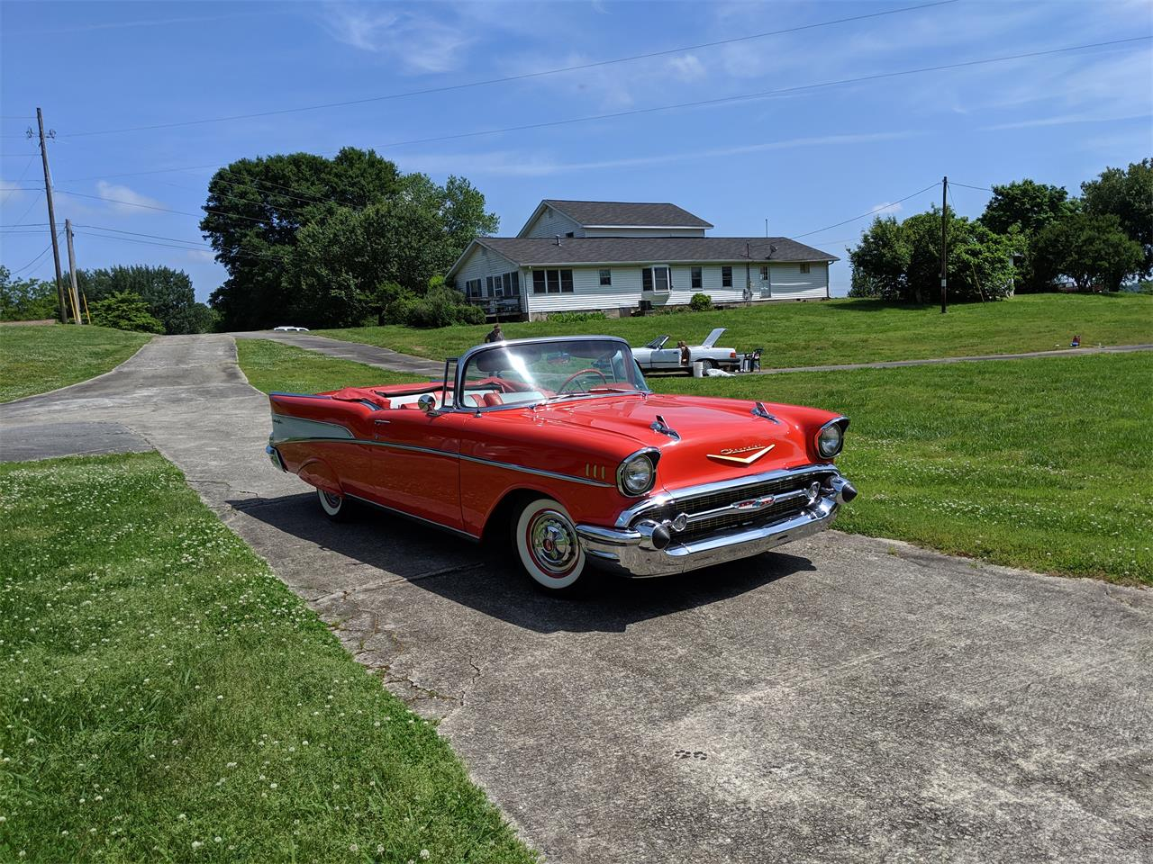 Large Picture of '57 Bel Air located in Gainsville Georgia Offered by a Private Seller - Q0ZG