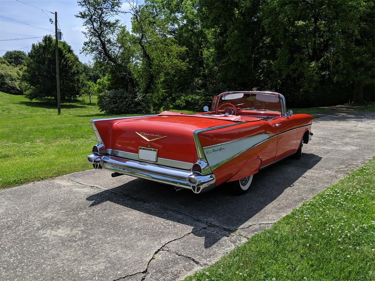 Large Picture of '57 Chevrolet Bel Air located in Gainsville Georgia - $95,000.00 - Q0ZG