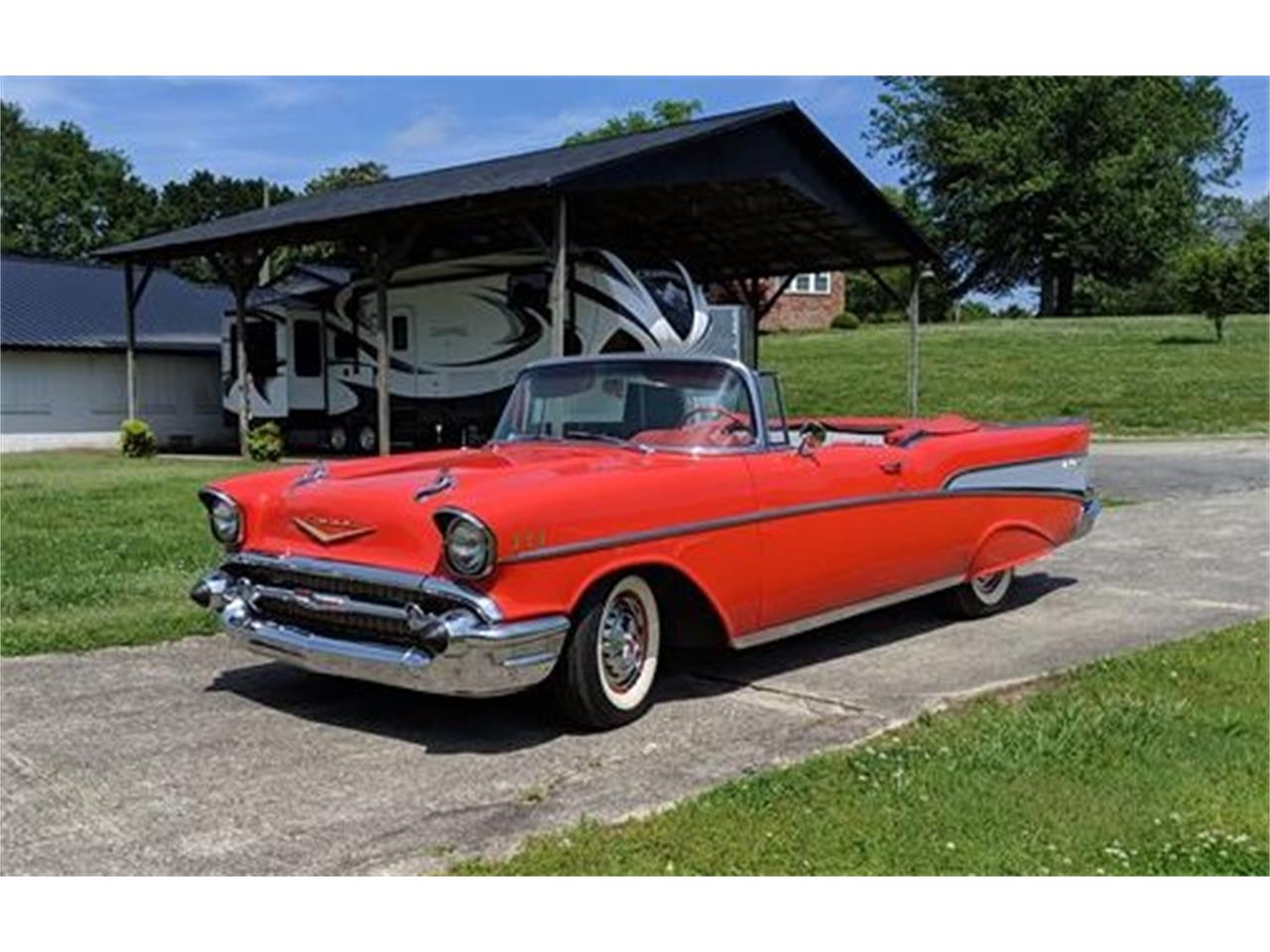 Large Picture of 1957 Chevrolet Bel Air located in Georgia - $95,000.00 Offered by a Private Seller - Q0ZG