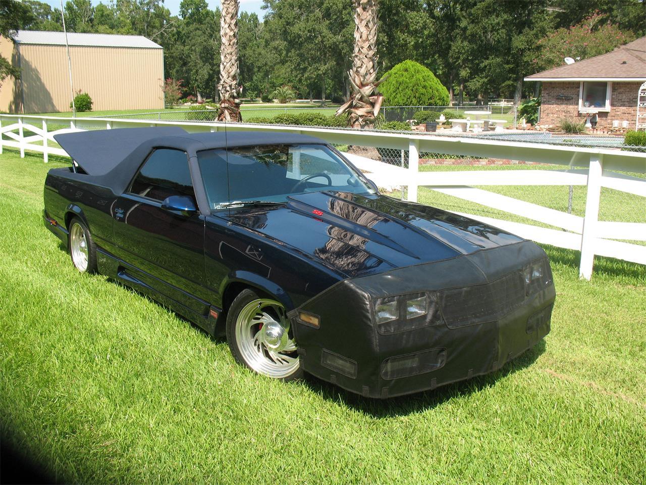 For Sale: 1982 Chevrolet El Camino in Crosby, Texas