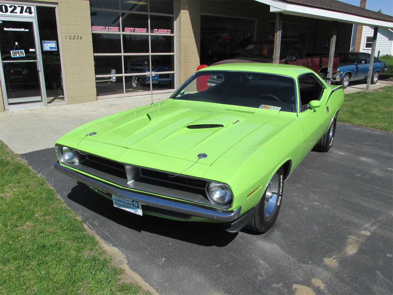 Large Picture of 1970 Plymouth Cuda located in Goodrich Michigan Offered by Ross Custom Muscle Cars LLC - Q105