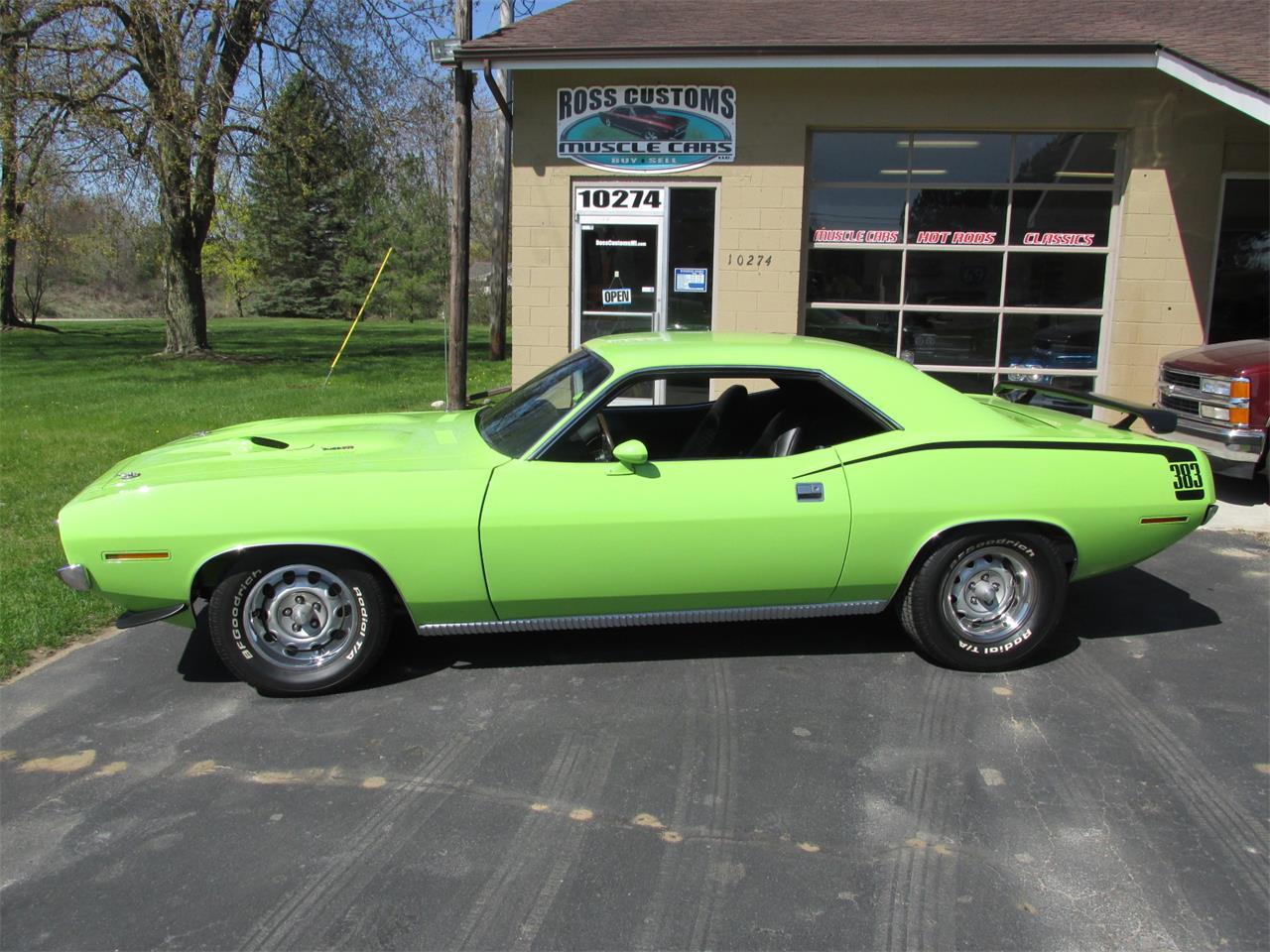 Large Picture of Classic 1970 Plymouth Cuda located in Goodrich Michigan - $43,900.00 - Q105