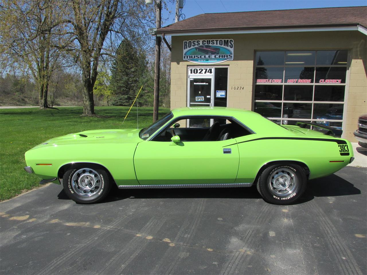 Large Picture of Classic 1970 Cuda located in Goodrich Michigan - $43,900.00 Offered by Ross Custom Muscle Cars LLC - Q105