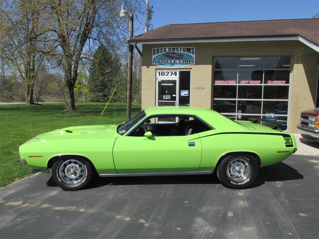 Large Picture of '70 Cuda located in Goodrich Michigan - $43,900.00 Offered by Ross Custom Muscle Cars LLC - Q105