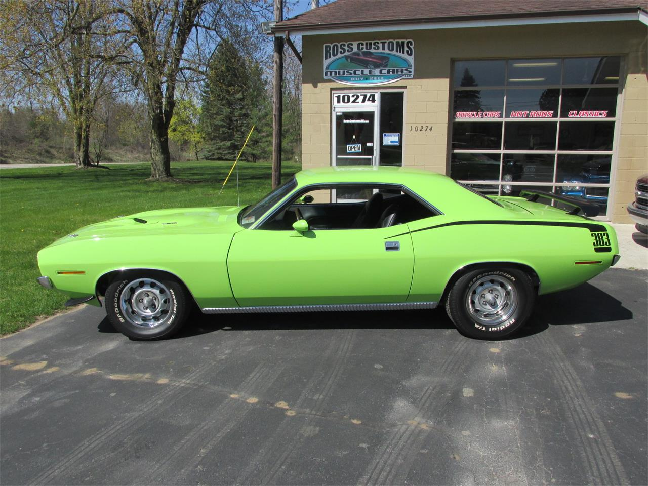 Large Picture of Classic '70 Cuda - $43,900.00 Offered by Ross Custom Muscle Cars LLC - Q105