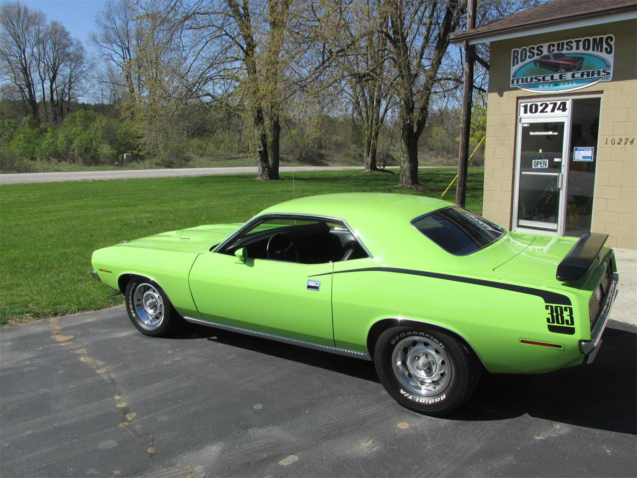 Large Picture of Classic 1970 Cuda located in Goodrich Michigan Offered by Ross Custom Muscle Cars LLC - Q105