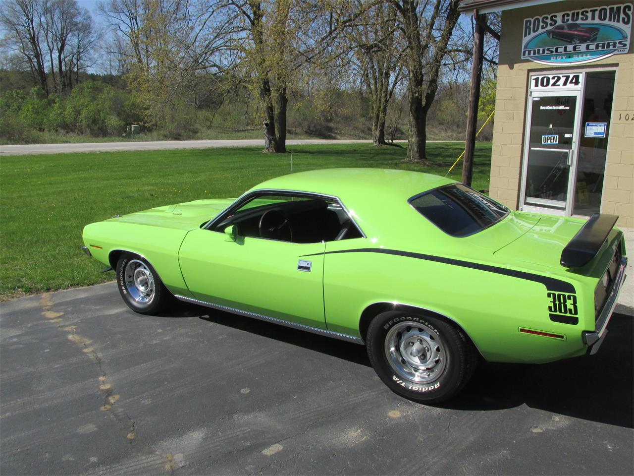 Large Picture of 1970 Cuda located in Michigan - $43,900.00 Offered by Ross Custom Muscle Cars LLC - Q105