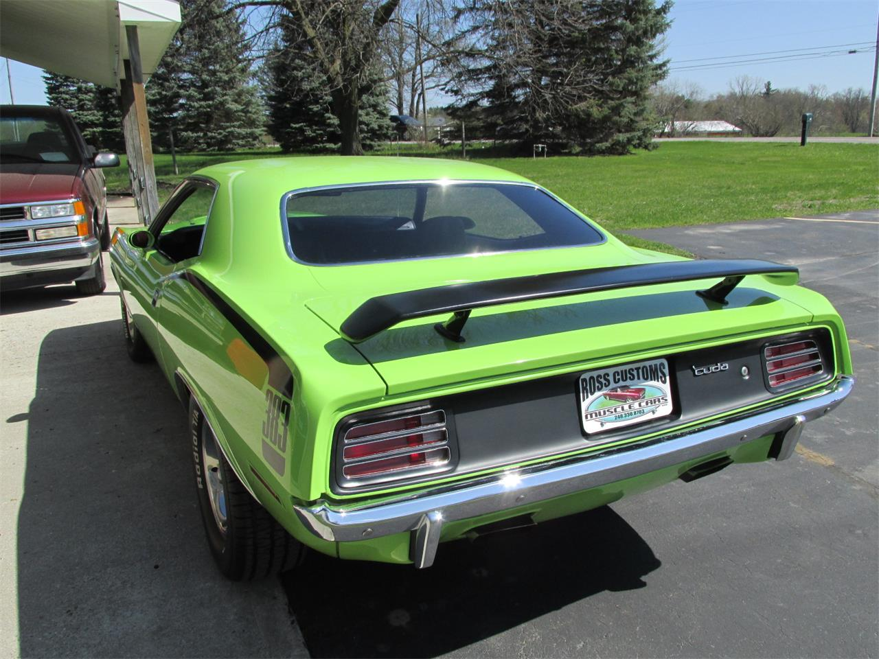 Large Picture of 1970 Cuda located in Michigan Offered by Ross Custom Muscle Cars LLC - Q105