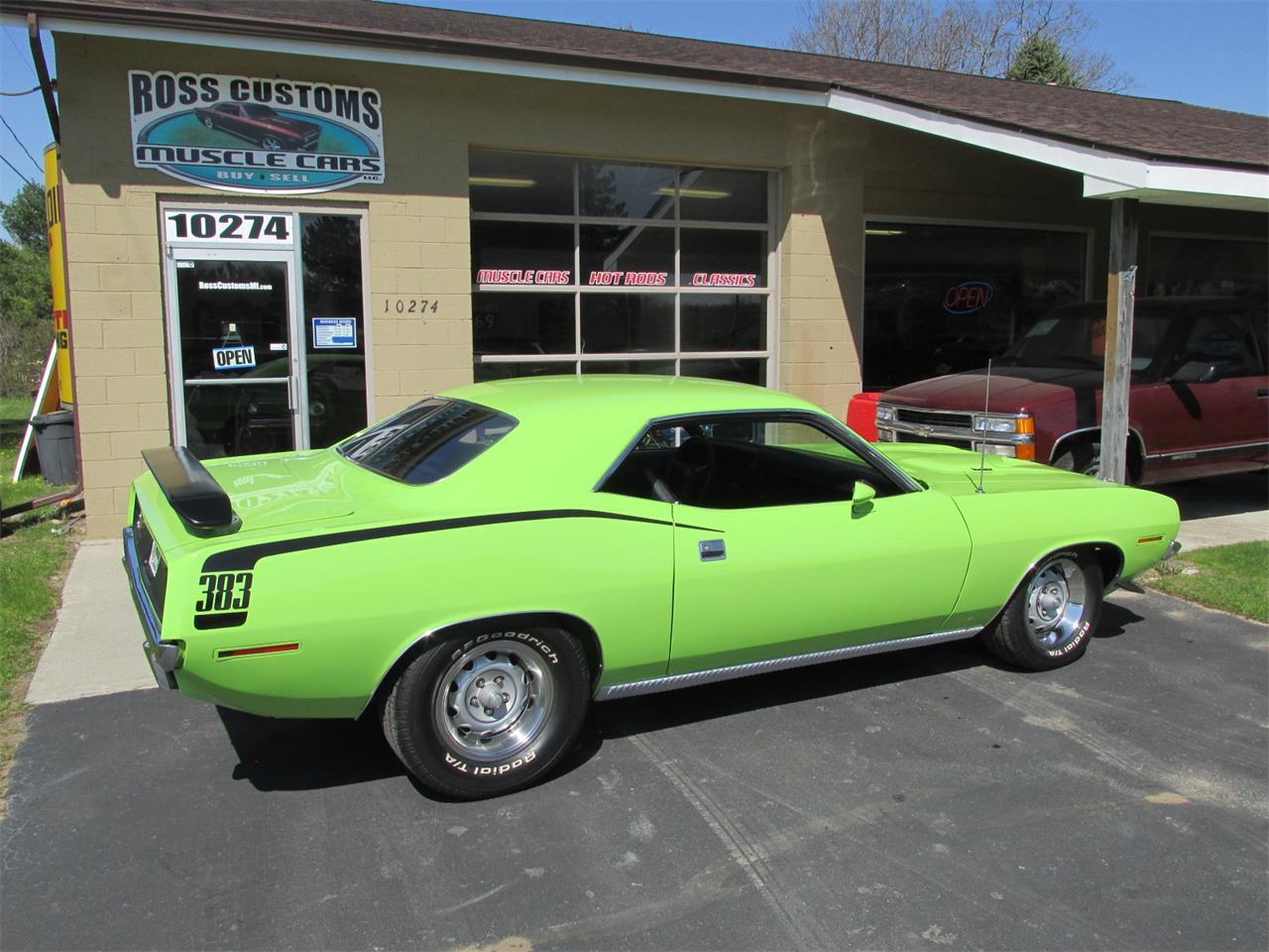 Large Picture of Classic '70 Cuda located in Goodrich Michigan - Q105
