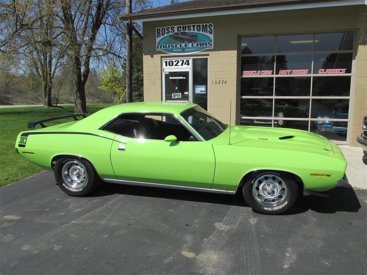 Large Picture of 1970 Cuda Offered by Ross Custom Muscle Cars LLC - Q105