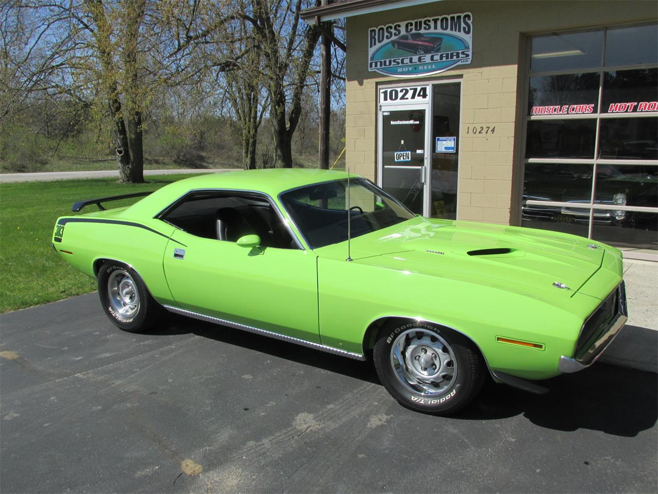 Large Picture of 1970 Plymouth Cuda located in Michigan Offered by Ross Custom Muscle Cars LLC - Q105