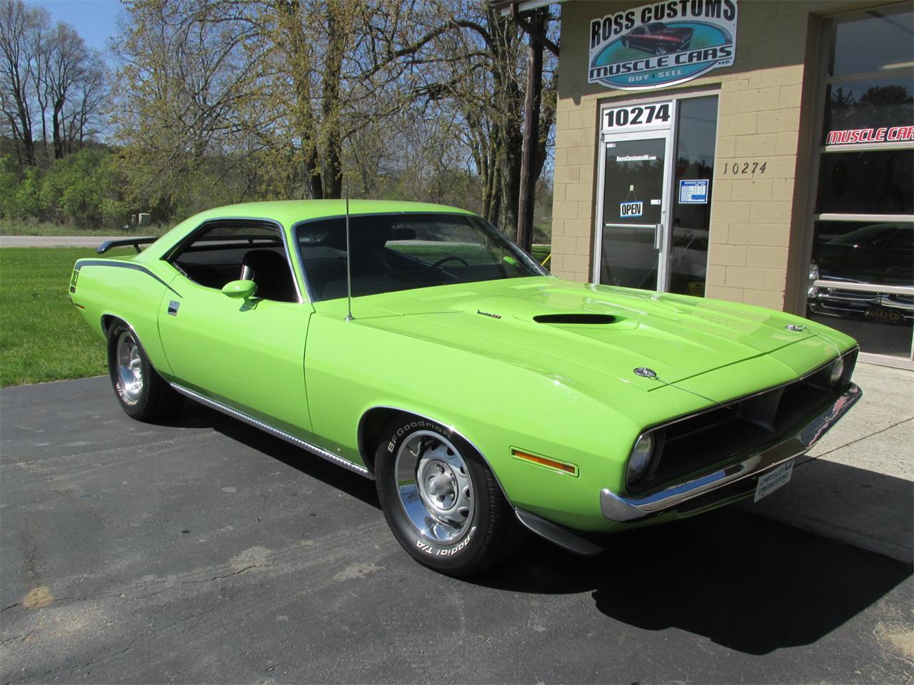 Large Picture of '70 Cuda located in Goodrich Michigan - $43,900.00 - Q105