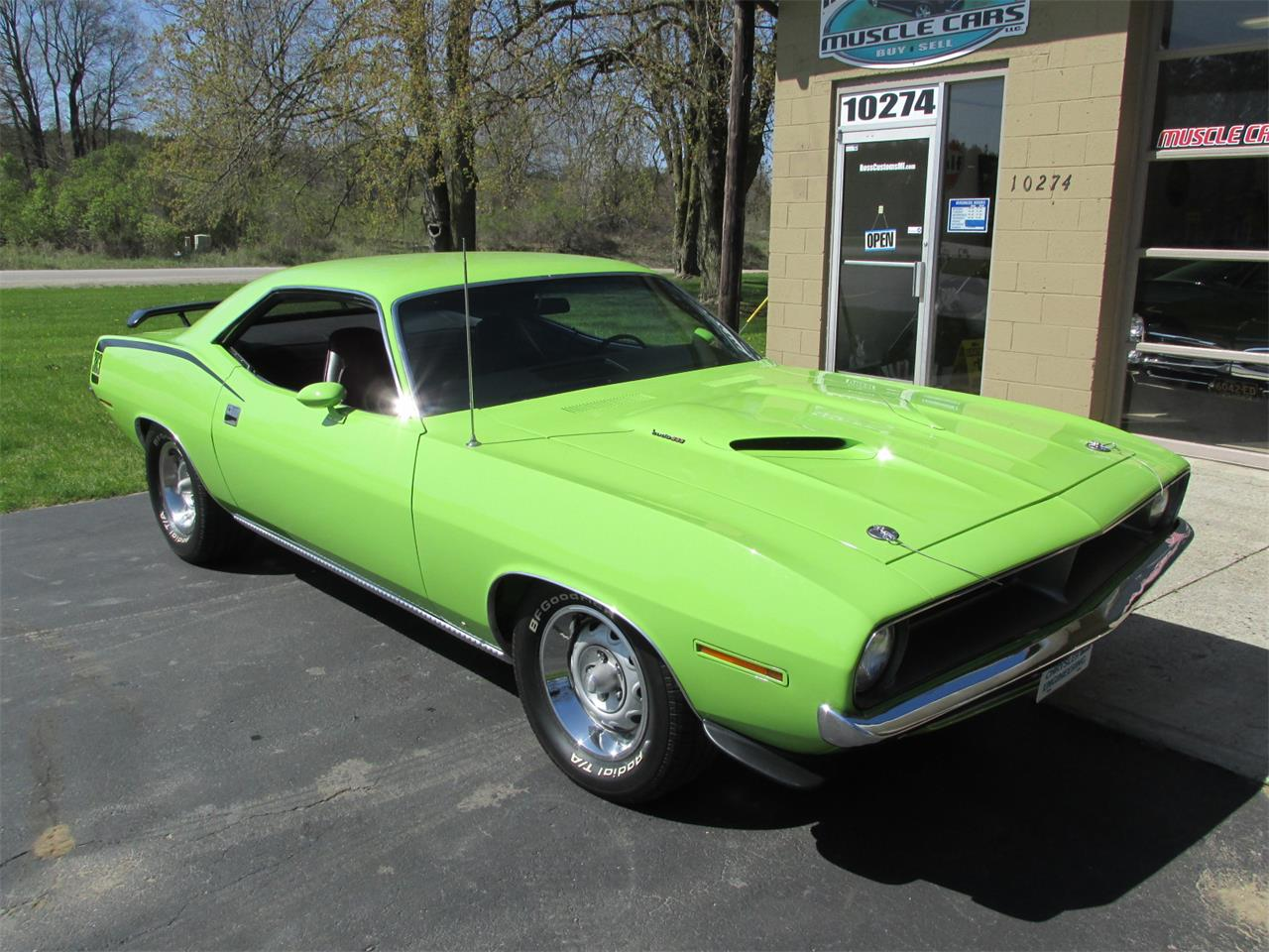 Large Picture of Classic '70 Cuda located in Goodrich Michigan - $43,900.00 Offered by Ross Custom Muscle Cars LLC - Q105
