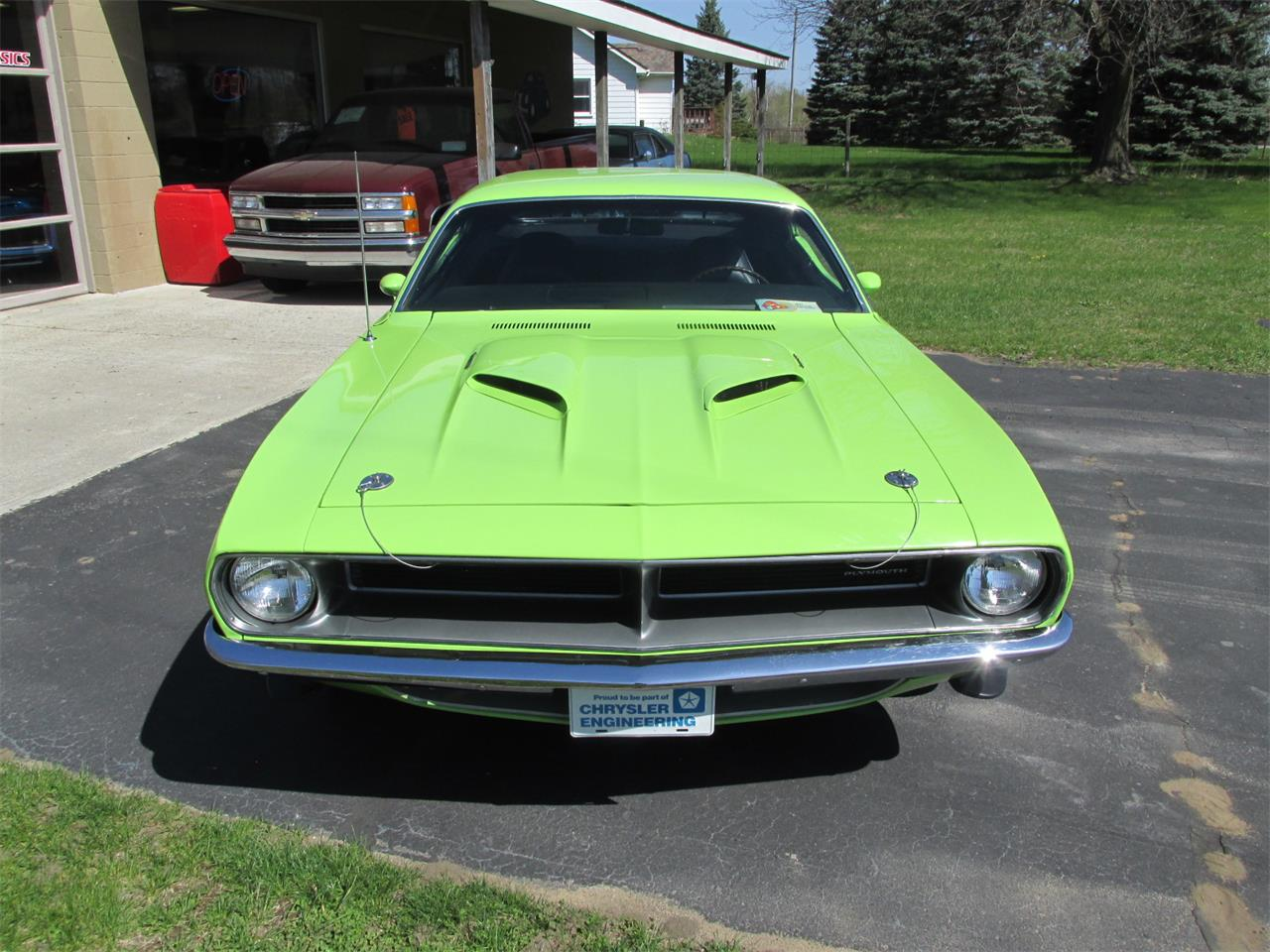 Large Picture of Classic '70 Plymouth Cuda located in Goodrich Michigan Offered by Ross Custom Muscle Cars LLC - Q105