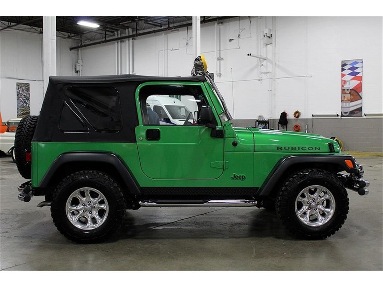 Large Picture of '05 Wrangler located in Kentwood Michigan Offered by GR Auto Gallery - Q10Z