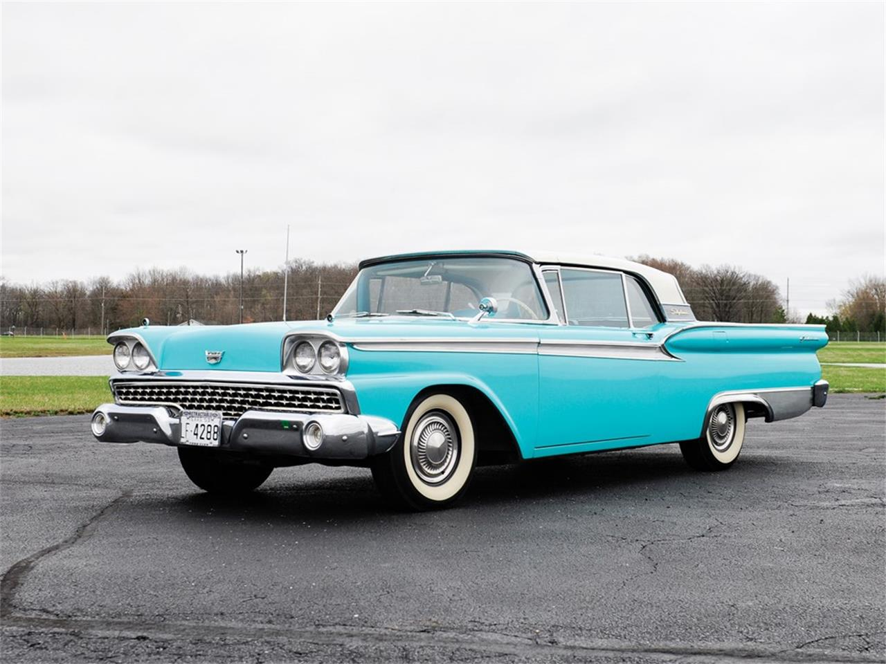 Large Picture of 1959 Galaxie Skyliner - Q12T