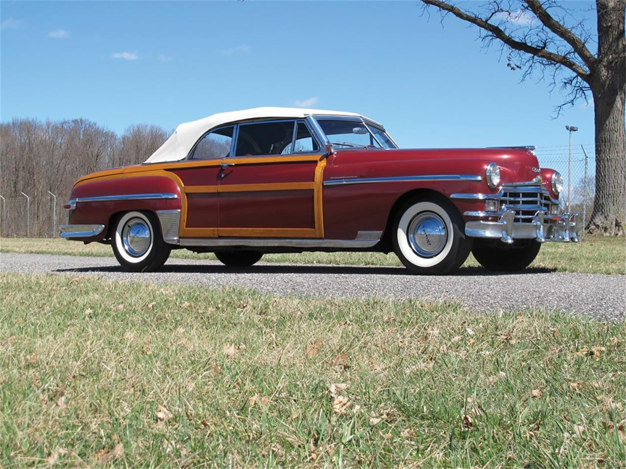 Large Picture of Classic 1949 Chrysler Town & Country located in Indiana Offered by RM Sotheby's - Q133