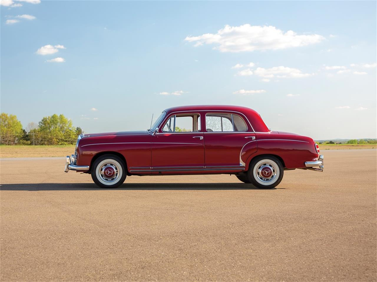 Large Picture of 1959 Mercedes-Benz 220SE Auction Vehicle - Q16N