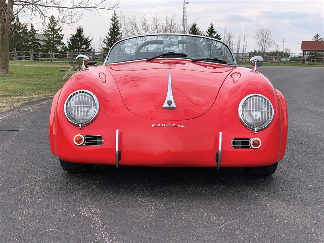 Large Picture of Classic '57 Porsche 356 Replica located in Auburn Indiana Auction Vehicle - Q19W