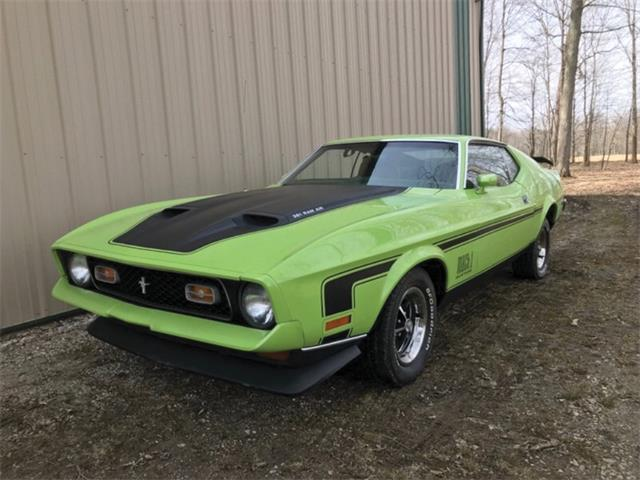 Picture of '71 Mustang Mach 1 - Q1AW