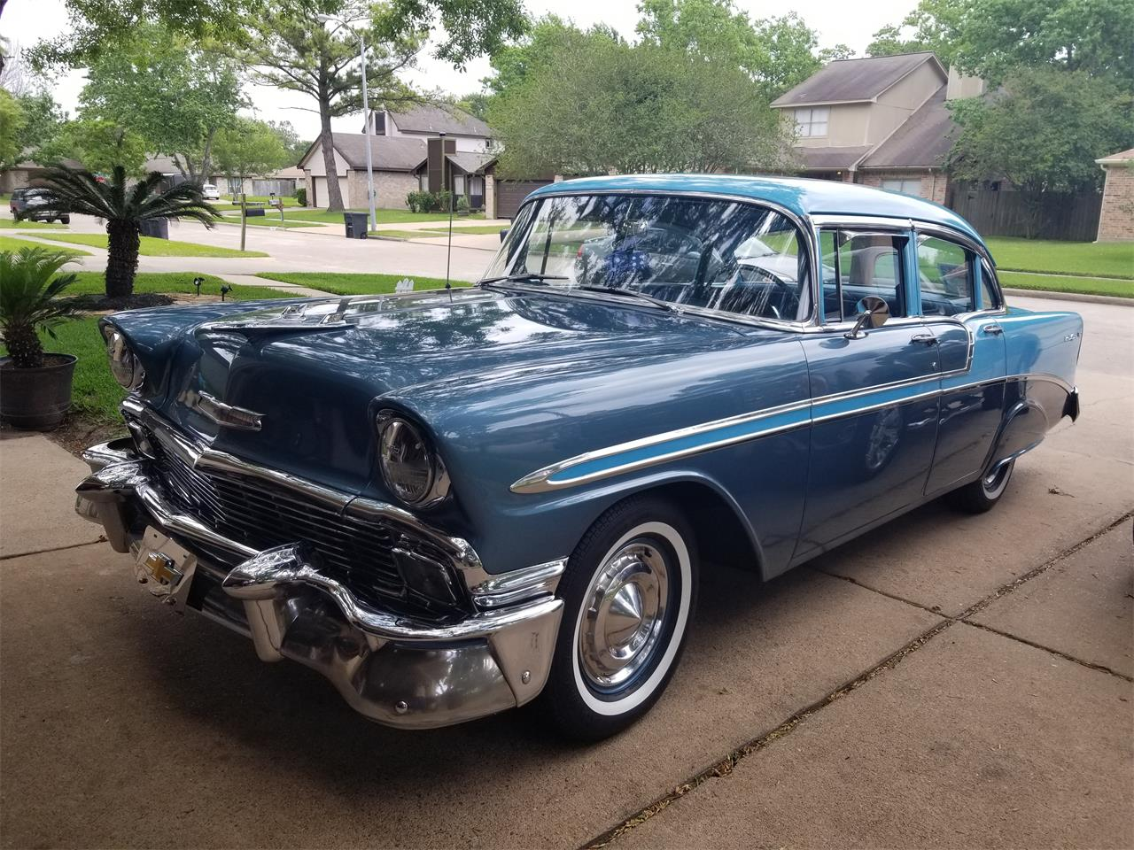 Large Picture of 1956 Chevrolet Bel Air located in Texas - $25,000.00 - Q1EC