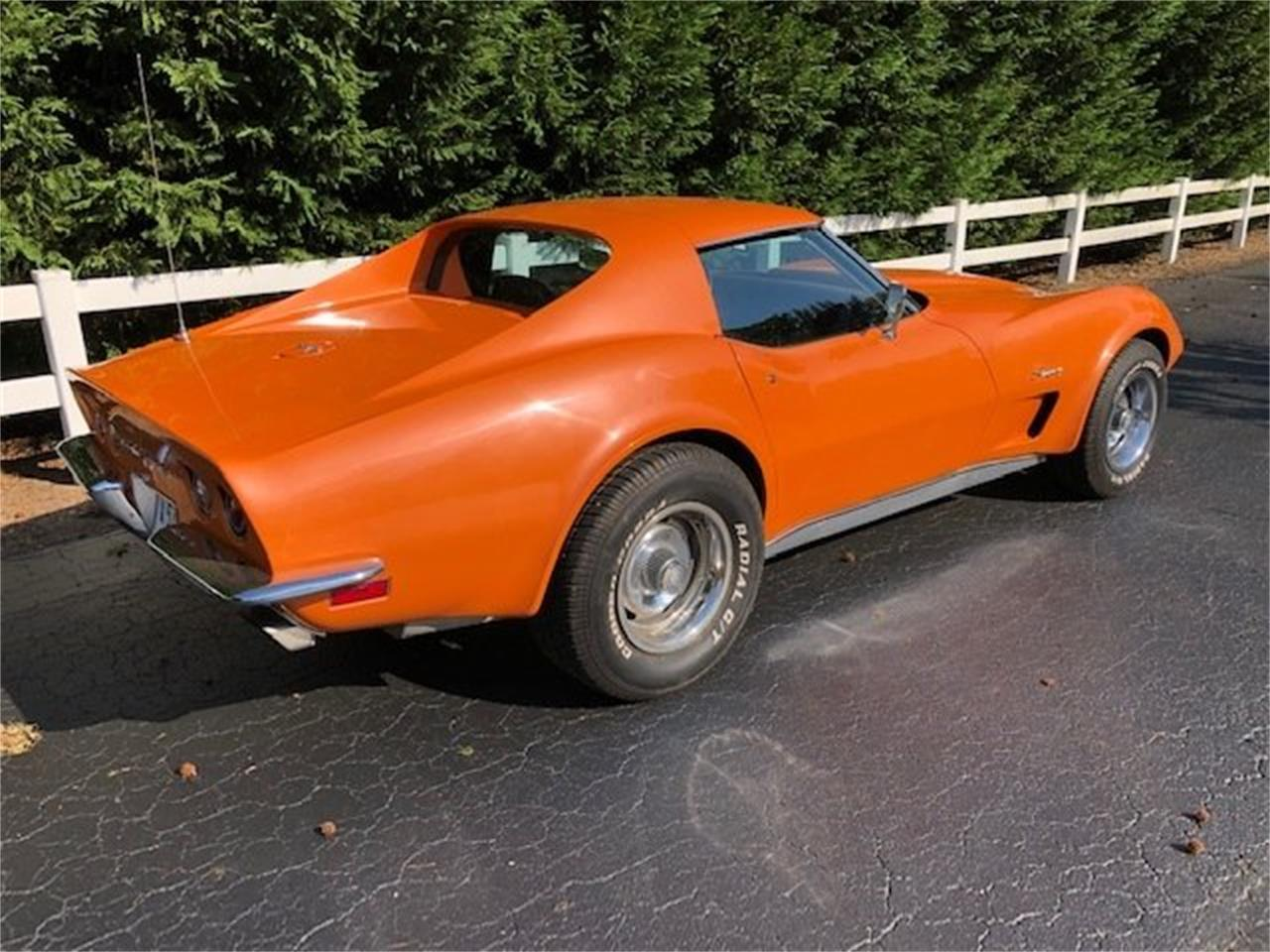 Large Picture of '73 Corvette located in North Carolina Auction Vehicle Offered by Tom Mack Auctions - Q1EQ