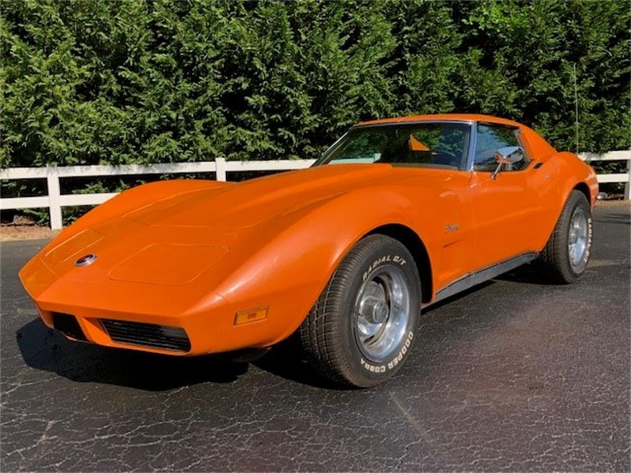 Large Picture of '73 Corvette located in Fletcher North Carolina Auction Vehicle Offered by Tom Mack Auctions - Q1EQ