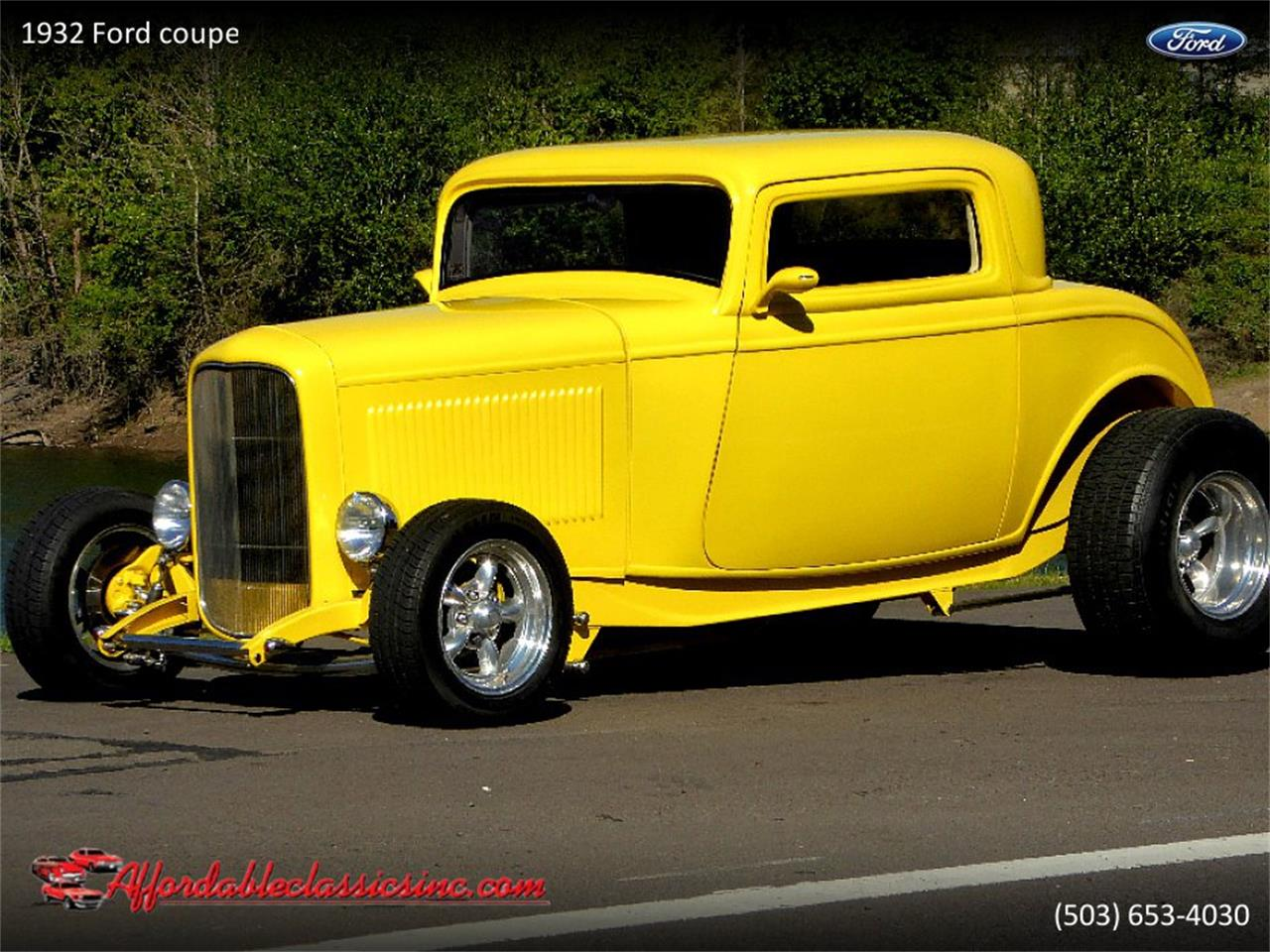 Large Picture of Classic '32 Ford Coupe located in Gladstone Oregon - $37,500.00 Offered by Affordable Classics Inc - Q1LY