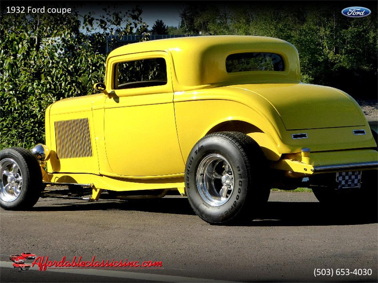 Large Picture of '32 Ford Coupe located in Gladstone Oregon Offered by Affordable Classics Inc - Q1LY