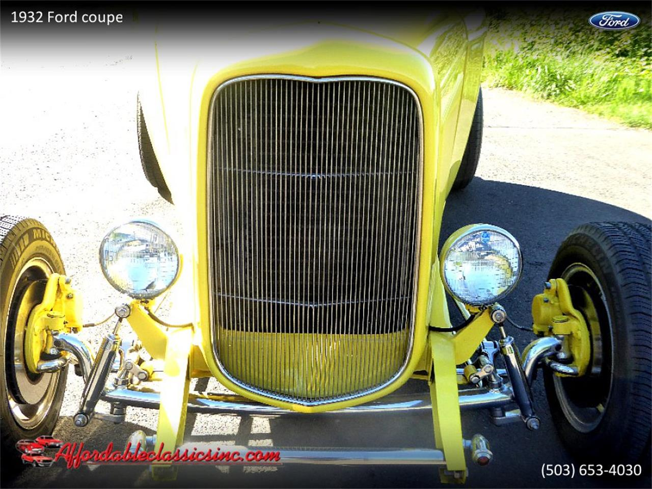 Large Picture of Classic '32 Ford Coupe located in Oregon Offered by Affordable Classics Inc - Q1LY