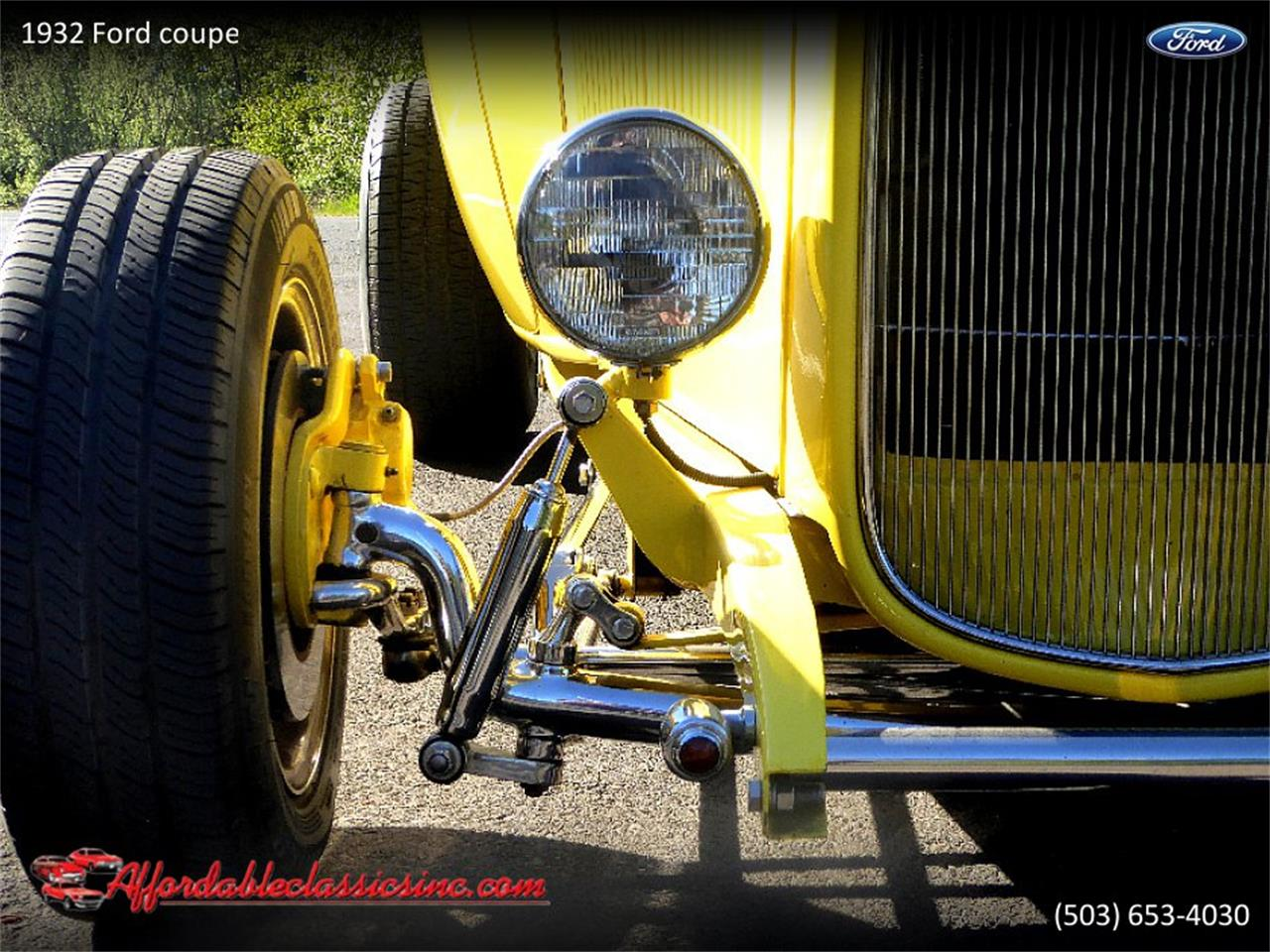Large Picture of '32 Ford Coupe Offered by Affordable Classics Inc - Q1LY