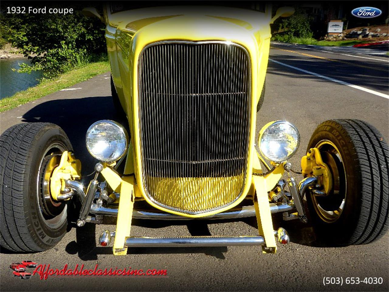 Large Picture of 1932 Ford Coupe located in Gladstone Oregon - $37,500.00 Offered by Affordable Classics Inc - Q1LY