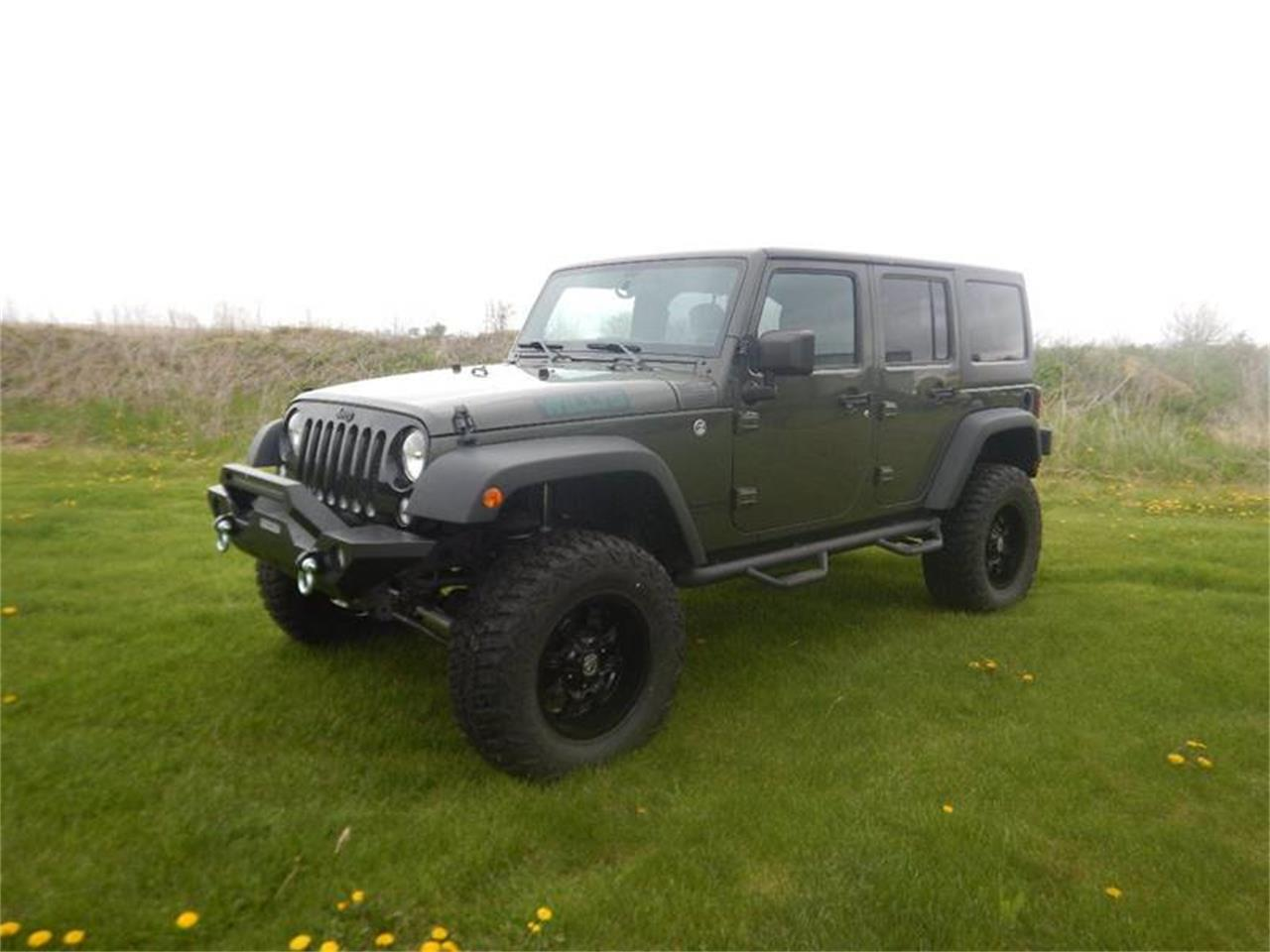 Large Picture of '16 Wrangler Offered by Kinion Auto Sales & Service - Q1MX