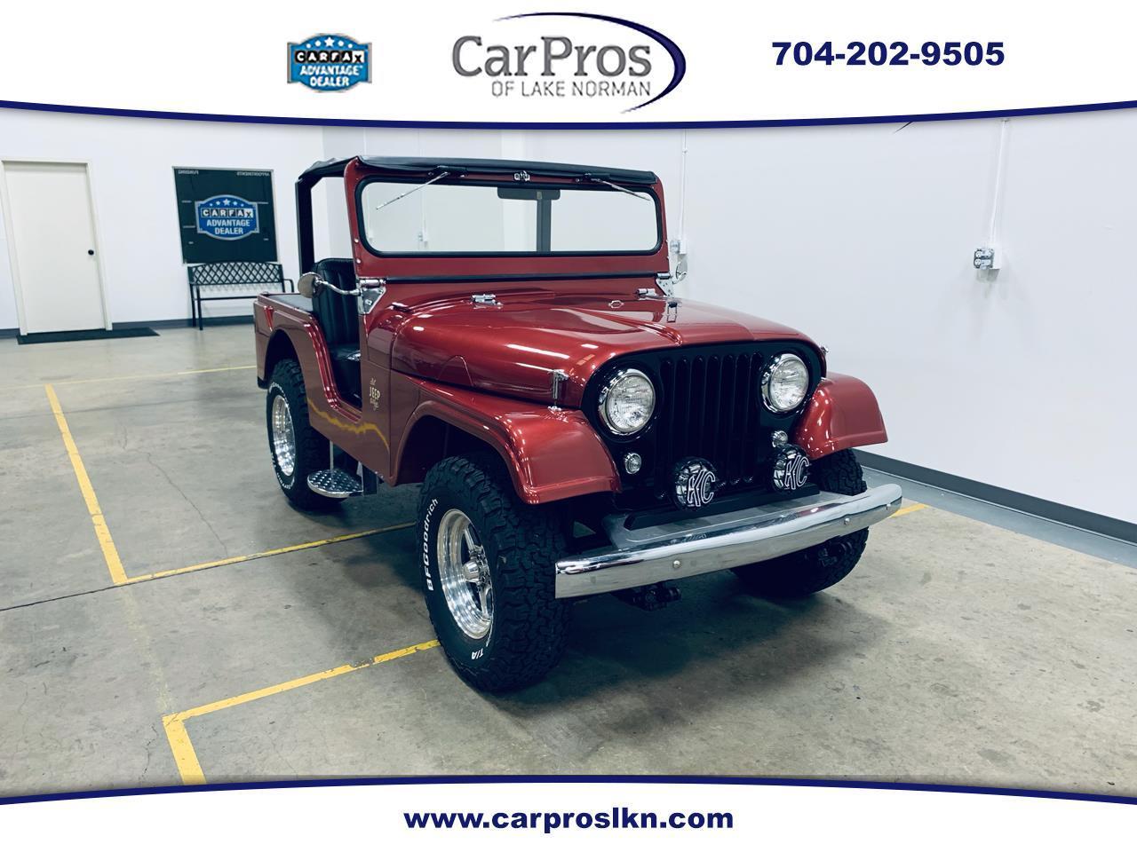 For Sale: 1963 Jeep CJ5 in Mooresville, North Carolina