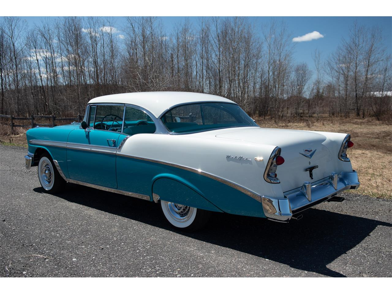 Large Picture of 1956 Chevrolet Bel Air Offered by R & R Classic Cars - Q1QB