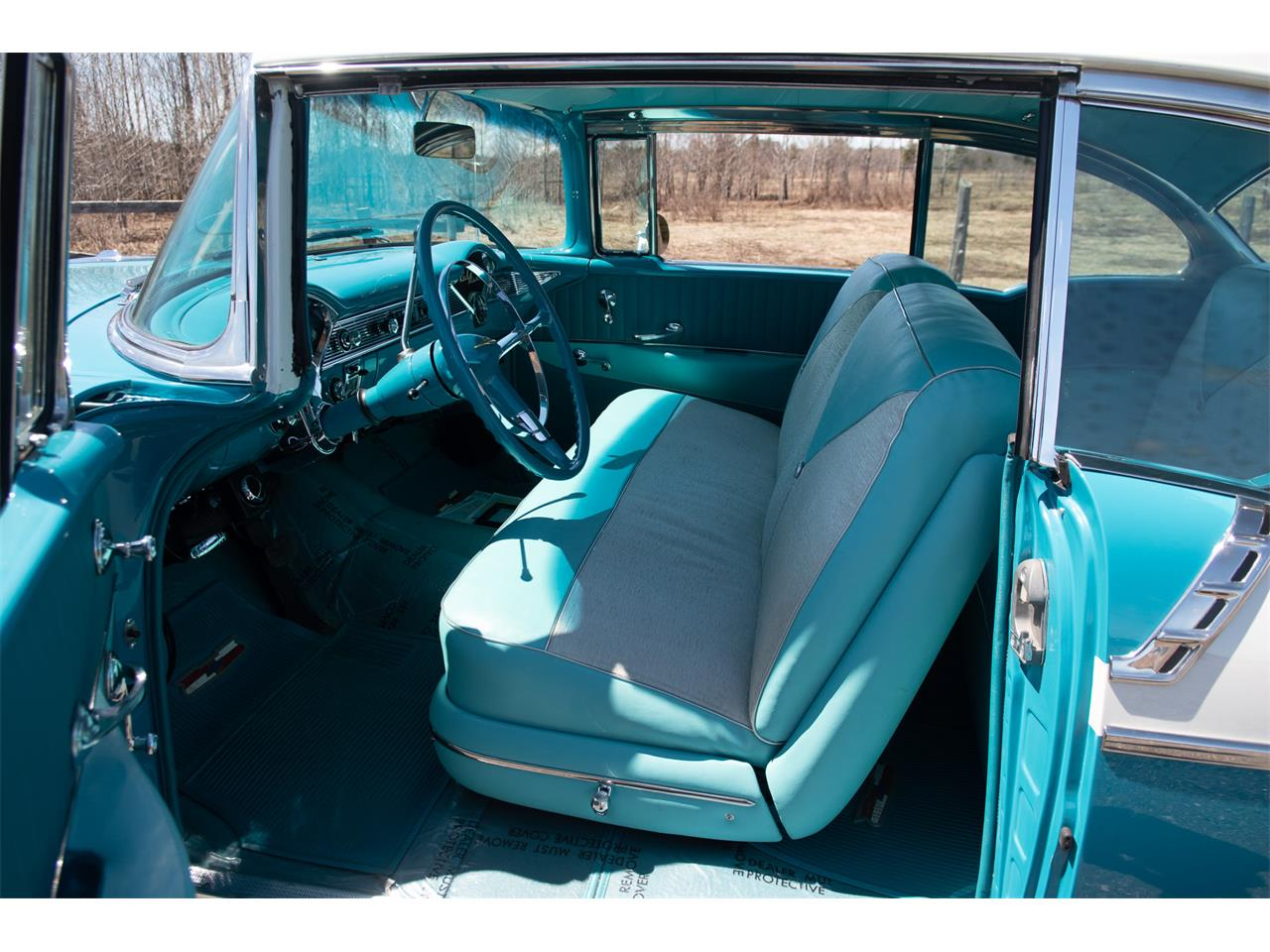 Large Picture of 1956 Chevrolet Bel Air located in VAL CARON Ontario Offered by R & R Classic Cars - Q1QB