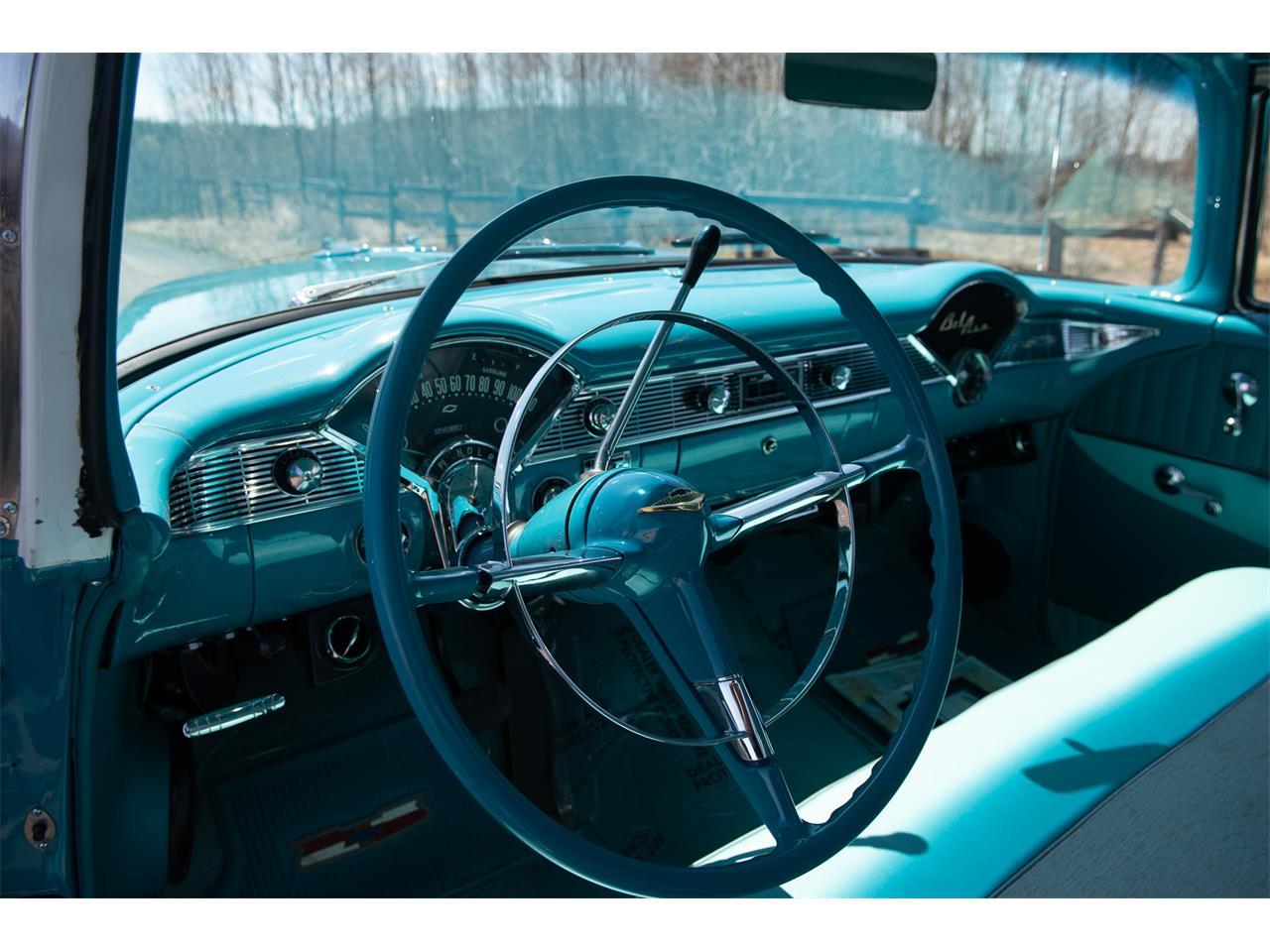 Large Picture of Classic '56 Chevrolet Bel Air located in VAL CARON Ontario Offered by R & R Classic Cars - Q1QB