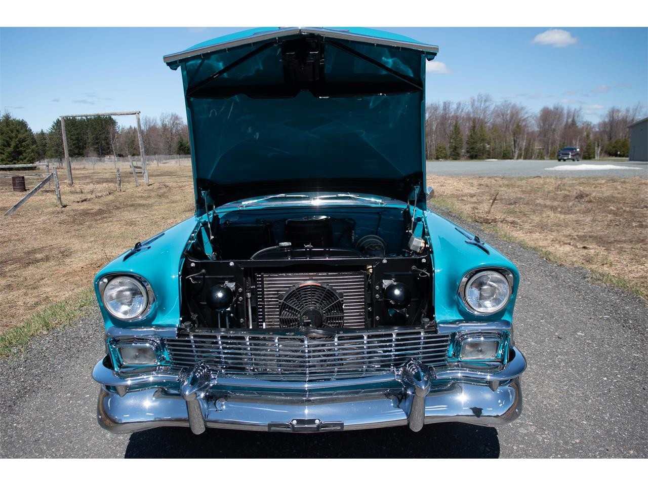 Large Picture of '56 Bel Air located in VAL CARON Ontario - $69,500.00 Offered by R & R Classic Cars - Q1QB