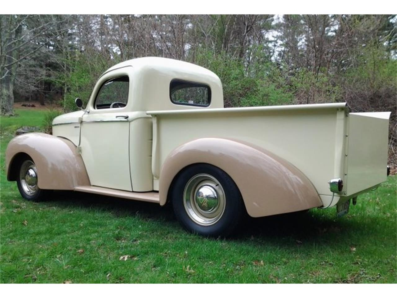 Large Picture of '42 Willys Pickup located in Hanover Massachusetts - $43,900.00 Offered by CARuso Classic Cars - PY27
