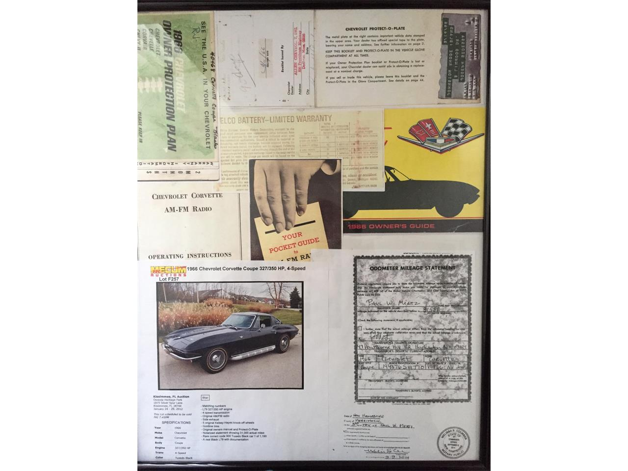 Large Picture of '66 Chevrolet Corvette Offered by Motorcar Classics - Q1WK