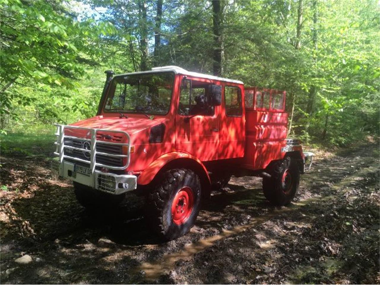 Large Picture of '87 Unimog - Q1Z3