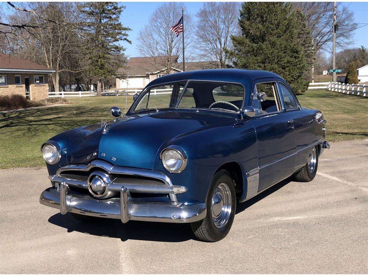 Large Picture of Classic 1950 Ford Custom located in Maple Lake Minnesota - $14,950.00 - PXOP