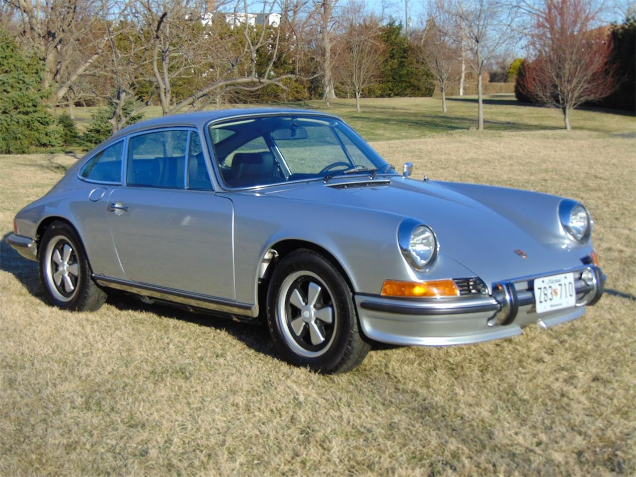 Large Picture of Classic 1972 Porsche 911S located in New Jersey Auction Vehicle - Q22O