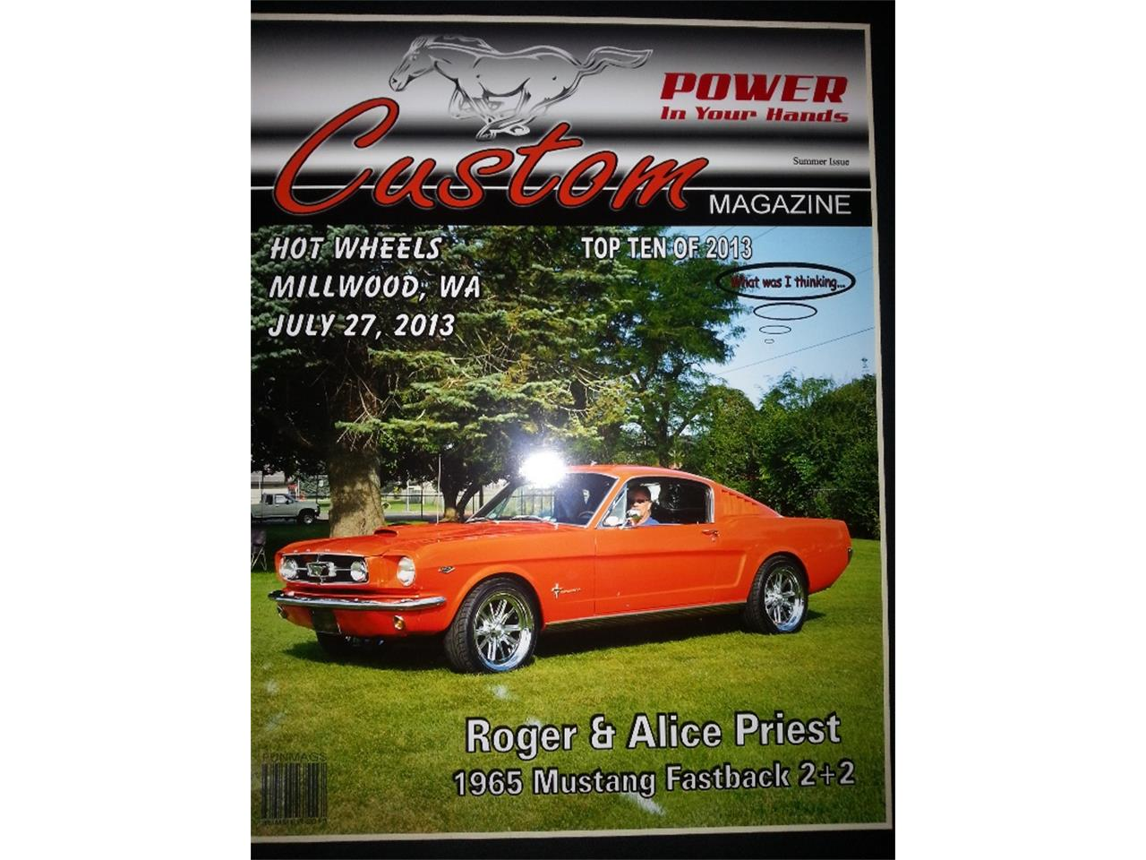 Large Picture of Classic 1965 Ford Mustang located in Washington Offered by a Private Seller - Q26S
