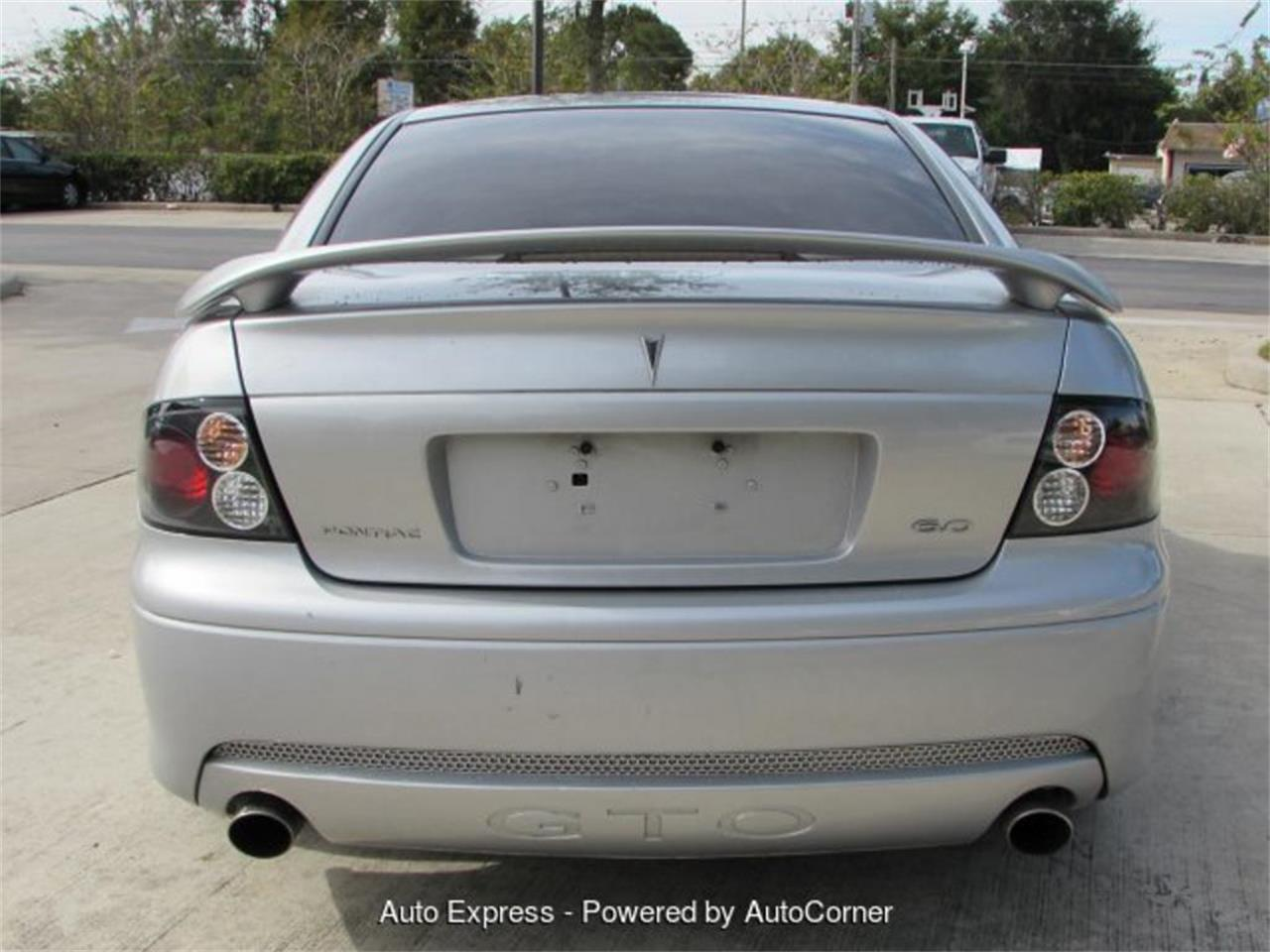 Large Picture of 2005 Pontiac GTO located in Florida - $13,999.00 Offered by Auto Express - Q2A5